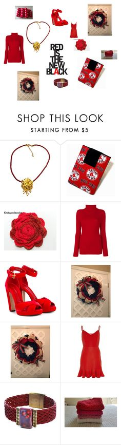 """Red is the new Black"" by gillilandice ❤ liked on Polyvore featuring Victoria Beckham, Alexander McQueen, River Island, men's fashion and menswear"