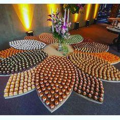 Mosaico de doces: Você vai querer um no seu casamento!