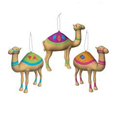 Camel Ornaments Set Of 3, $16, now featured on Fab.