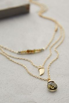 Draped Tristan Necklace - anthropologie.com #anthrofave