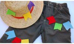 roupa infantil festa junina
