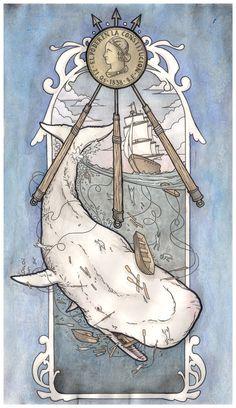 Moby Dick by scumbugg.deviantart.com on @deviantART #mobydick
