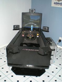 D I Y R Cade Make Your Own Arcade Racing Cabinet For