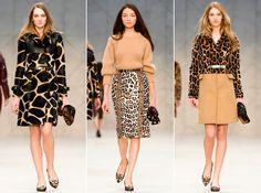 Leopard!! (Drool). Burberry prorsum 2013