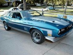 1971 Ford Mustang Mach 1 Maintenance/restoration of old/vintage vehicles: the material for new cogs/casters/gears/pads could be cast polyamide which I (Cast polyamide) can produce. My contact: tatjana.alic@windowslive.com