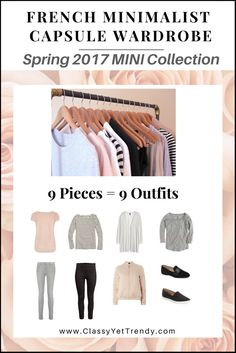 Create a Capsule Wardrobe On a Budget: 10 Spring Outfits - Classy Yet Trendy