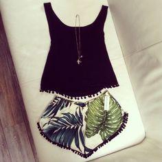 Honolulu chic by OCEAN'S DESIRE  #inspiring #fashion #palm #beach #ocean #surf #travel #Australia