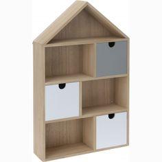 Półka z szufladkami House  50 cm