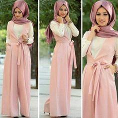 Modest Fashion Hijab, Abaya Fashion, Muslim Fashion, Fashion Wear, Fashion Outfits, Hijab Style, Hijab Chic, Modele Hijab, Muslim Dress