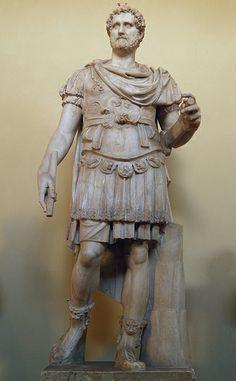 Statue of Antoninus Pius, Vatican Museums Ancient Rome, Ancient Art, Ancient History, Antoninus Pius, Ancient Greek Sculpture, Roman Sculpture, Art Rules, Stone Statues, Roman Emperor