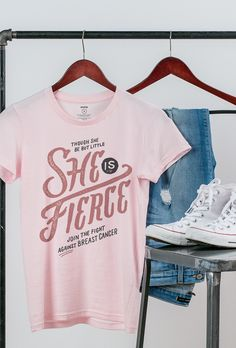 This quote is a testament to the fierce breast cancer fighters and survivors in our lives. Wear this design to support a loved one or give it to someone who has exemplified the strength it takes to keep fighting! Each purchase supports Boarding For Breast Cancer and helps send breast cancer survivors to healing and wellness retreats. #Sevenly #B4BC