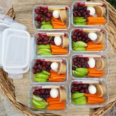 Took a few minutes to assemble a few bento boxes today! How handy will it be to pull one out of the fridge for an afternoon snack – OR – on the way to the kids' practice!?! ⚽ Fast food temptation – go