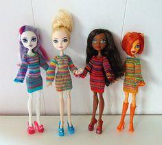 Платья для кукол Монстер хай от Mikusheva на Etsy