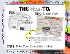 If your students are like my 5th graders, then you know they just LOVE every opportunity to use markers, highlighters, and color! If you can have an activity that incorporates these things, then your students are more likely to be engaged. I know it sounds crazy… but it actually works! I've created a Close Reading …