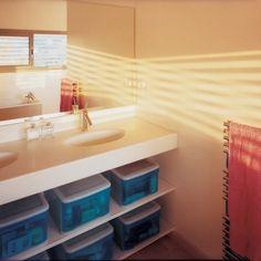 La salle de bain en Corian