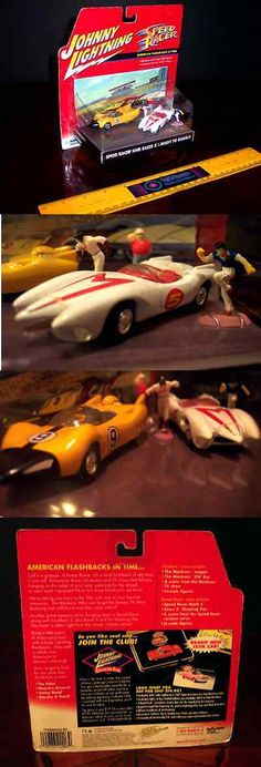 Speed Racer 19244: Rare Johnny Lightning Speed Racer Ready To Rumble Mach 5 Racer X 2 Car Set - New -> BUY IT NOW ONLY: $89.99 on eBay!