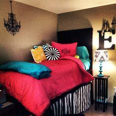 love this dorm room college dorm beddingdorm