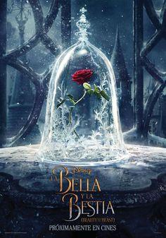 Noticias de cine y series: La Bella y la Bestia: La rosa encantada, protagonista del primer teaser póster de la película
