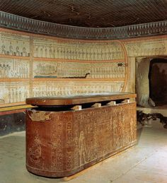 Sarcophagus of Thuthmosis III