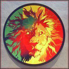 Rasta Aufkleber Vinyl Sticker Lion of Judah Reggae Rastafari jamaica ragga decal Reggae Rasta, Rasta Art, Reggae Music, Bob Marley Kunst, Bob Marley Art, Rastafari Art, Fox Tattoo Design, Jamaica Reggae, Reggae Style