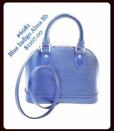 87131753eff Beautiful blue LV Indigo Alma Bb  LV  LouisVuitton  stylish  style  fashion