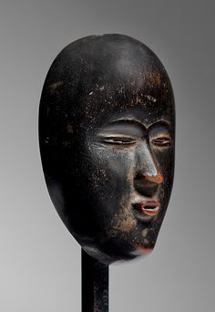 Provenance:  William W. Brill, New York  Patrick Mestagh, Brussels.   Published:  African Art from the Leslie Sacks Collection, Refined Eye, Passionate Heart, Skira 2013, p.244 African Words, African Art, Sacks, Brussels, Dan, Auction, Batman, Liberia, York