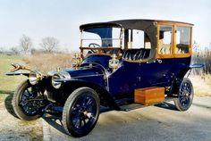 PANHARD-LEVASSOR X21 LANDAULET, 1913 - Christoph Grohe