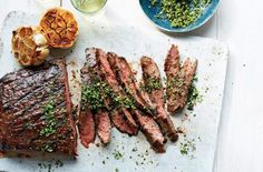 Healthy Grilling Recipes: Grilled Steak With Gremolata COOKOUT,GRILL,GRILLING,ICE CREAM,KEBABS,PIZZA,SALAD,STEAK,SUMMER RECIPES