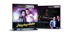 cd promocional Marcos e Fernando