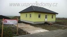 Rodinný dům, dřevostavba Largo 98 – bungalov www.uspornedomy.cz