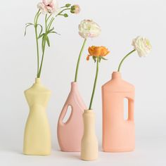 Porcelain Bottle Vases