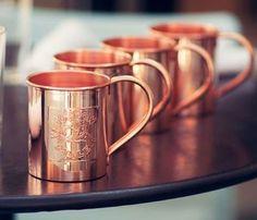 Pinterest - Copper Mugs via Searching Hearts