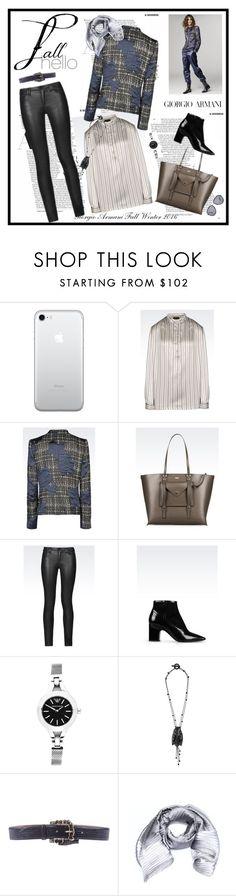 """Giorgio Armani Fall Winter 2016 collection♥♥♥♥♥"" by marthalux ❤ liked on Polyvore featuring Giorgio Armani, Armani Jeans, Emporio Armani, Armani Collezioni, StreetStyle, giorgio and falltrend"