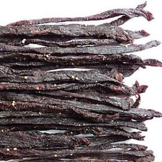 Biltong is a fantastic energy snack. Beef Biltong Snap Sticks & Chilli Bites marinated in special seasoning before drying. Our fully qualified butcher makes biltong and dry wors daily! Chilli Recipes, Sausage Recipes, Beef Recipes, South African Dishes, South African Recipes, Kos, Heritage Recipe, Biltong, How To Make Sausage