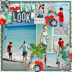 Used the following from the Sweet Shoppe Universal Album 4 By Cindy Schneider (photospots slightly modified) Beach Bum by Lliella Designs Over the Rainbow 2.0 Alphas by Studio Flergs