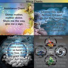 Wicca chants