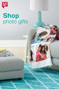 With personalized photo gifts, you can turn your favorite digital photos into great gifts for anyone on your list. Turn your favorite memories into blankets, pillows, mugs, magnets and more.