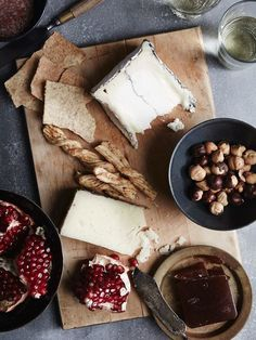 cheese board | by the tart tart...looks so yummy and healthy