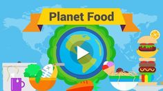 """Have students discover their own global food network by playing """"Planet Food""""—a two-part interactive game that introduces the concepts of interdependence and globalization through the geography of food."""