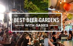 Best Beer Gardens with Games - NYC