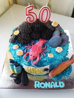 Seafood cake kina