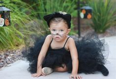 Baby Girl costume. All black. So fab. -Angel Alpha #ConvertToBlack