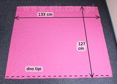 Tipi / namiot dla dziecka (zobacz jak uszyć i przygotować wykrój) | eti-blog…