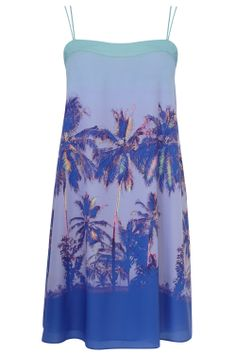 Helouise Palm Tree Cami #Dress £65