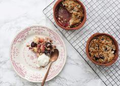 Havermoutcrumble met kersen | Gezond ontbijt | Taste Our Joy!