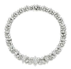 A diamond necklace, by Harry Winston