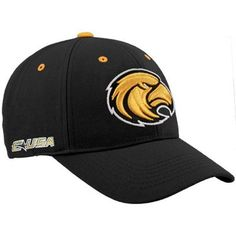 Top of the World Southern Miss Golden Eagles Black Triple Conference Adjustable Hat