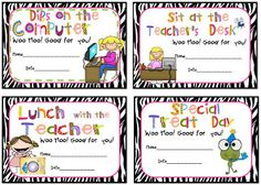 First Grade Fever!: classroom management