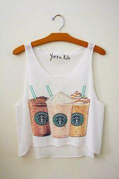 Starbucks shirt :)