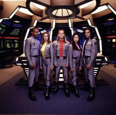 Power Rangers in Space (1998). I will admit, I was 13 years old and still watching this. :)
